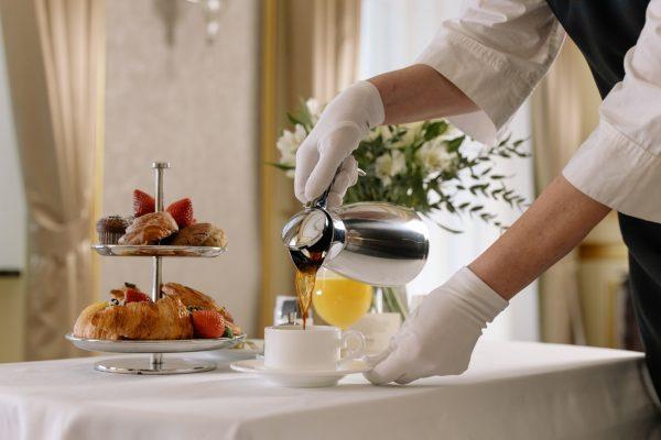 Frühstück in Corona Zeiten